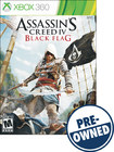 Assassin's Creed IV: Black Flag - PRE-OWNED - Xbox 360