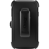 OtterBox - Defender Series Rugged Case + Holster Clip for Galaxy S 4 Active - Black (660543022954)