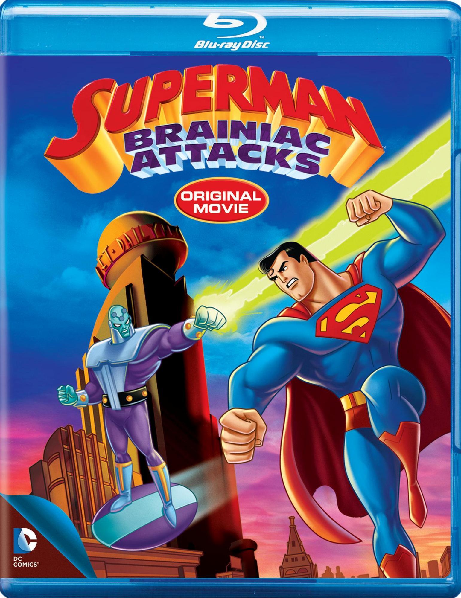 Superman: Brainiac Attacks [blu-ray] 2884486