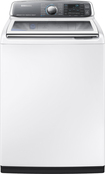 Samsung - activewash 5.2 Cu. Ft. 15-Cycle Steam Top-Loading Washer - White