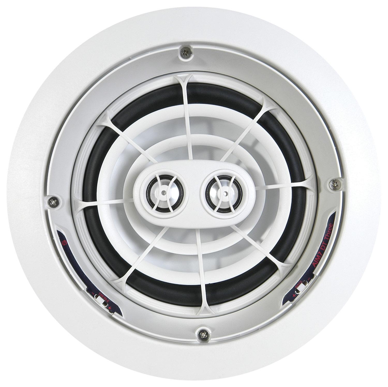 """SpeakerCraft - AIM7 DT Three 7"""" In-Ceiling Speaker (Each) - White"""