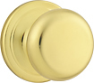 Kwikset - Signature Series Juno Door Knob - Polished Brass