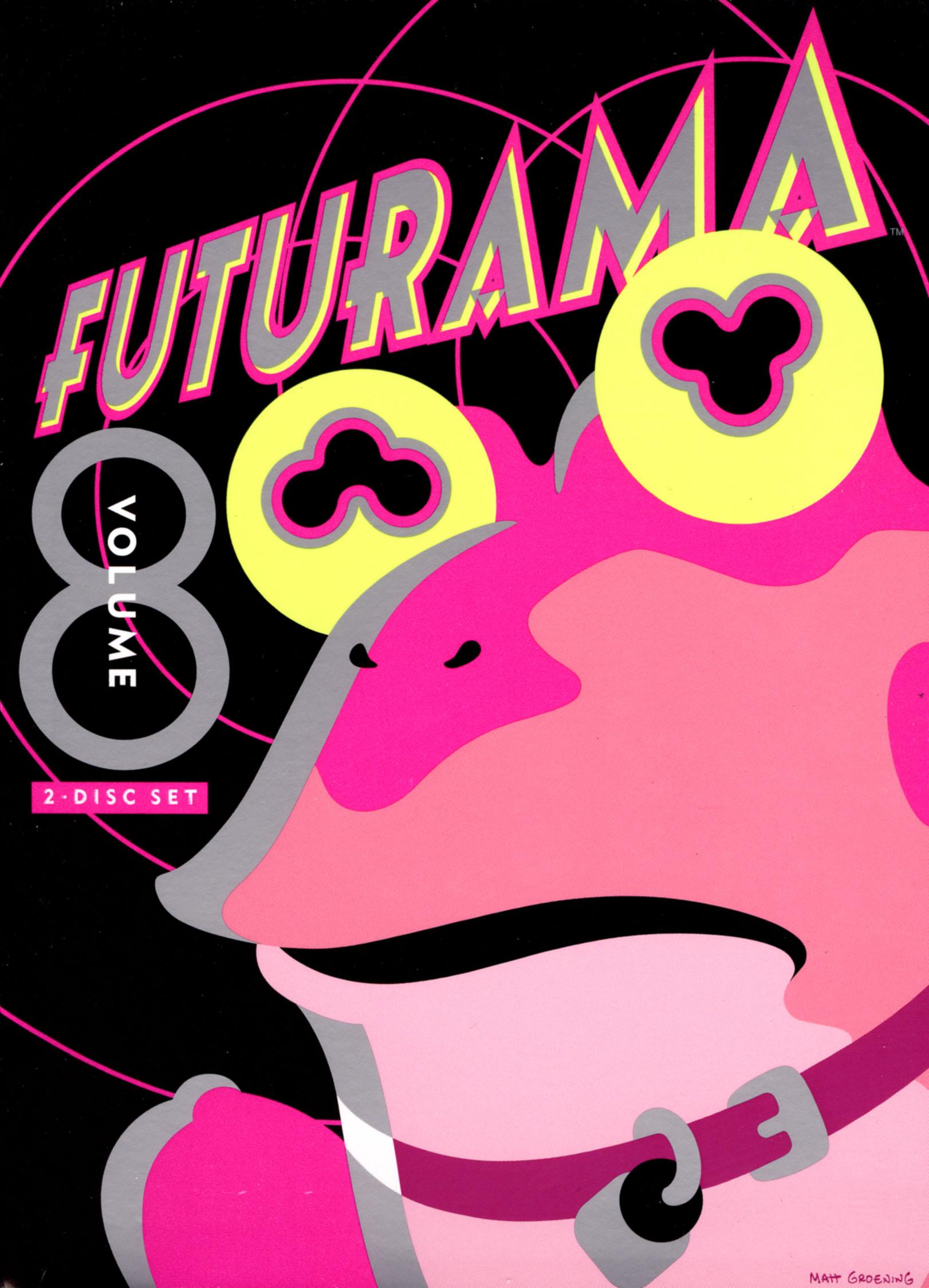 Futurama, Vol. 8 [2 Discs] (dvd) 2889661