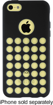 Rocketfish™ - Perforated Cover for Apple® iPhone® 5c - Black