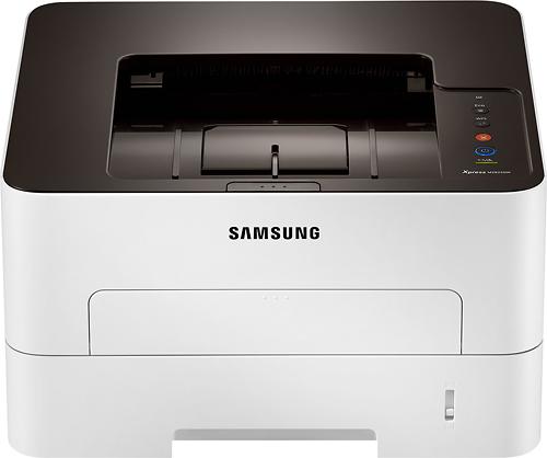 Samsung - SL-M2825DW Wireless Black-and-White Printer - Gray