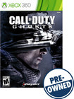 Call of Duty: Ghosts - PRE-OWNED - Xbox 360