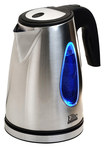 Elite Platinum - 1.7L Cordless Electric Kettle - Clear/Stainless-Steel