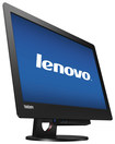 "Lenovo - ThinkCentre Tiny-in-One 23"" LED HD Monitor - Black"
