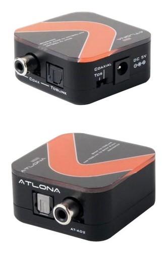 Atlona - Optical/Coaxial Digital 2-Way Converter