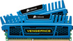 Corsair - Vengeance 2-Pack 4GB DDR3 DIMM Desktop Memory Kit - Blue