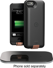 Duracell Powermat - PowerSet II Kit for Apple® iPhone® 5 and 5s - Black