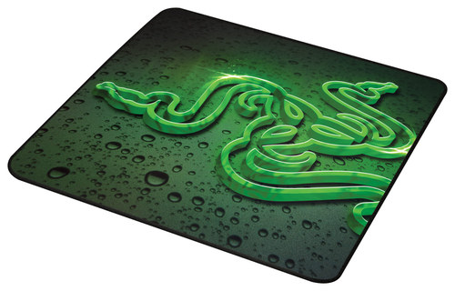 Razer - Goliathus Speed Gaming Mouse Mat - Black/Green