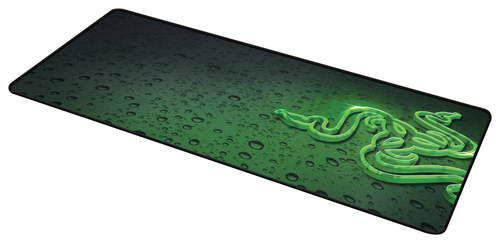 Razer - Goliathus Speed Extended Gaming Mouse Mat - Black/Green