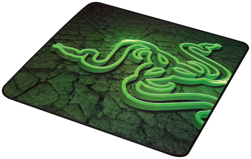 Razer - Goliathus Control Gaming Mouse Mat - Black/Green