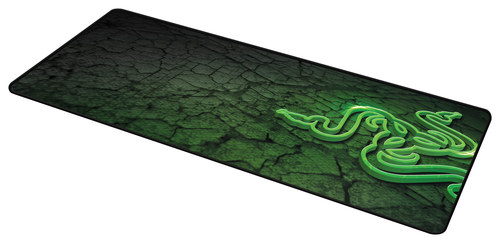 Razer - Goliathus Control Extended Gaming Mouse Mat - Black/Green