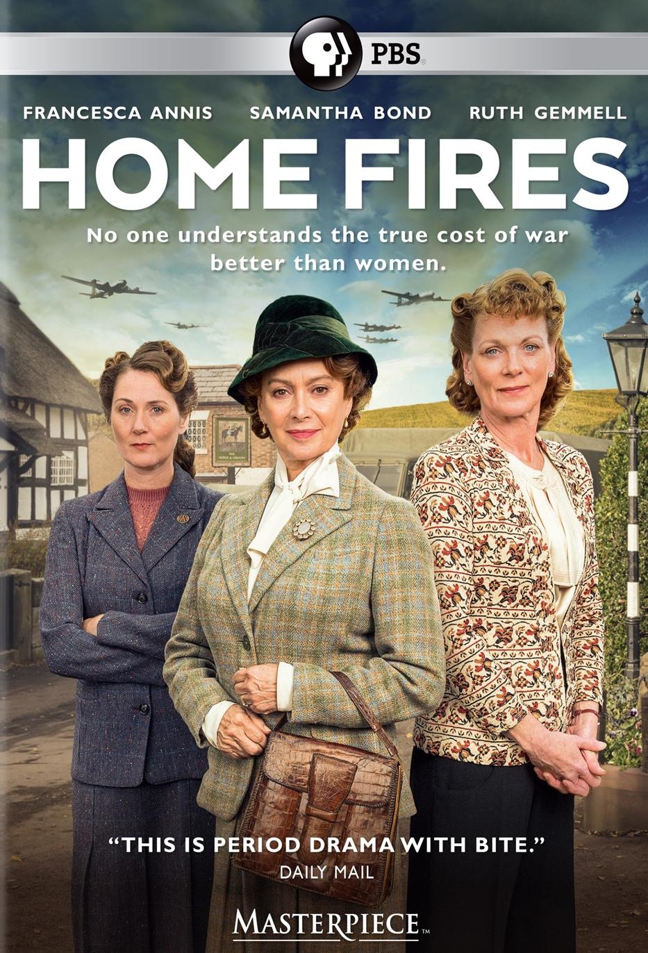 Masterpiece: Home Fires [u.k. Edition] [2 Discs] (dvd) 29090476
