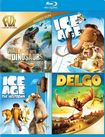 Walking With Dinosaurs/ice Age/ice Age: The Meltdown/delgo [blu-ray] [4 Discs] 29102349