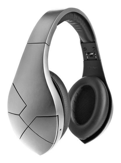 Velodyne - Vbold Over-the-Ear Headphones - Satin Silver