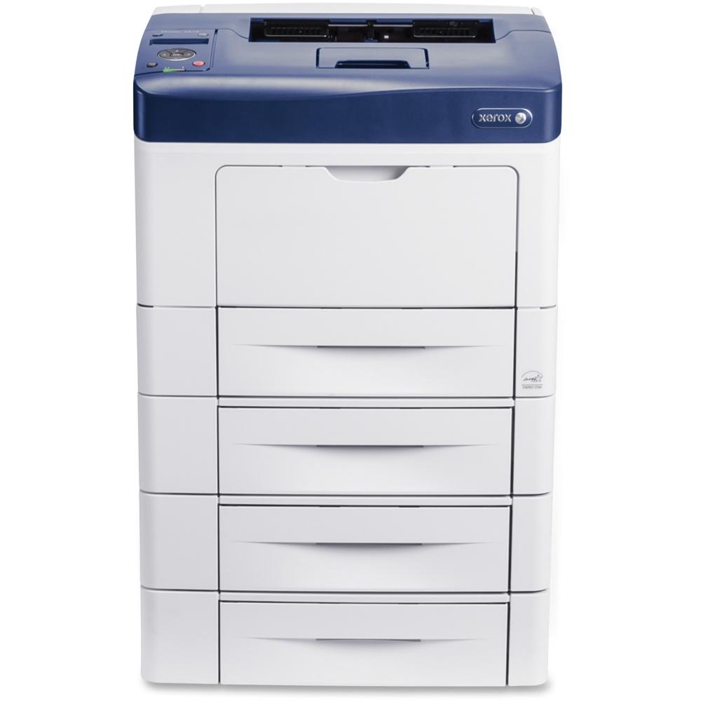 Xerox - Phaser Network-Ready Black-and-White Printer - White