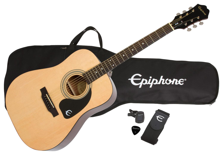 Epiphone - 6-String Dreadnought Acoustic Guitar - Natural