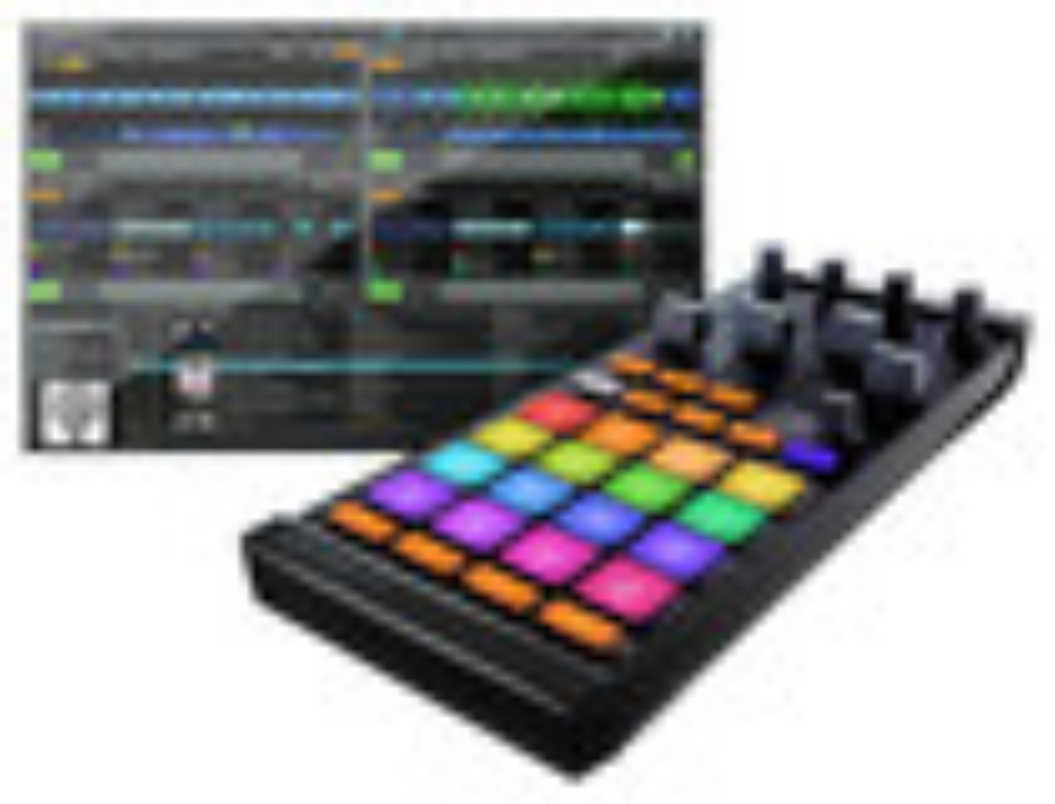 Native Instruments - TRAKTOR KONTROL F1 DJ Controller - Black