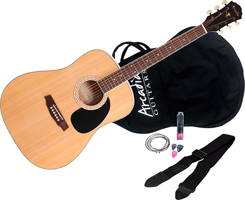 Arcadia - DL Series 3/4-Size Acoustic Guitar - Natural