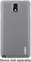 Belkin - Shield Sheer Case for Samsung Galaxy Note 3 Cell Phones - Clear