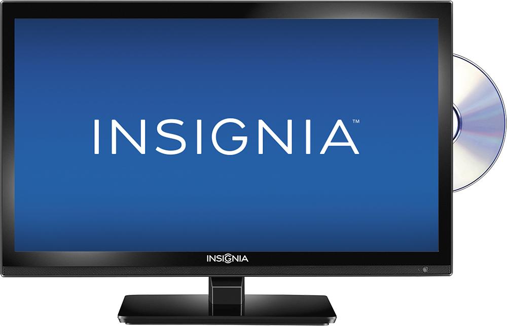 "Insignia™ - 20"" Class (19-1/2"" Diag.) - LED - 720p - HDTV DVD Combo - Black"