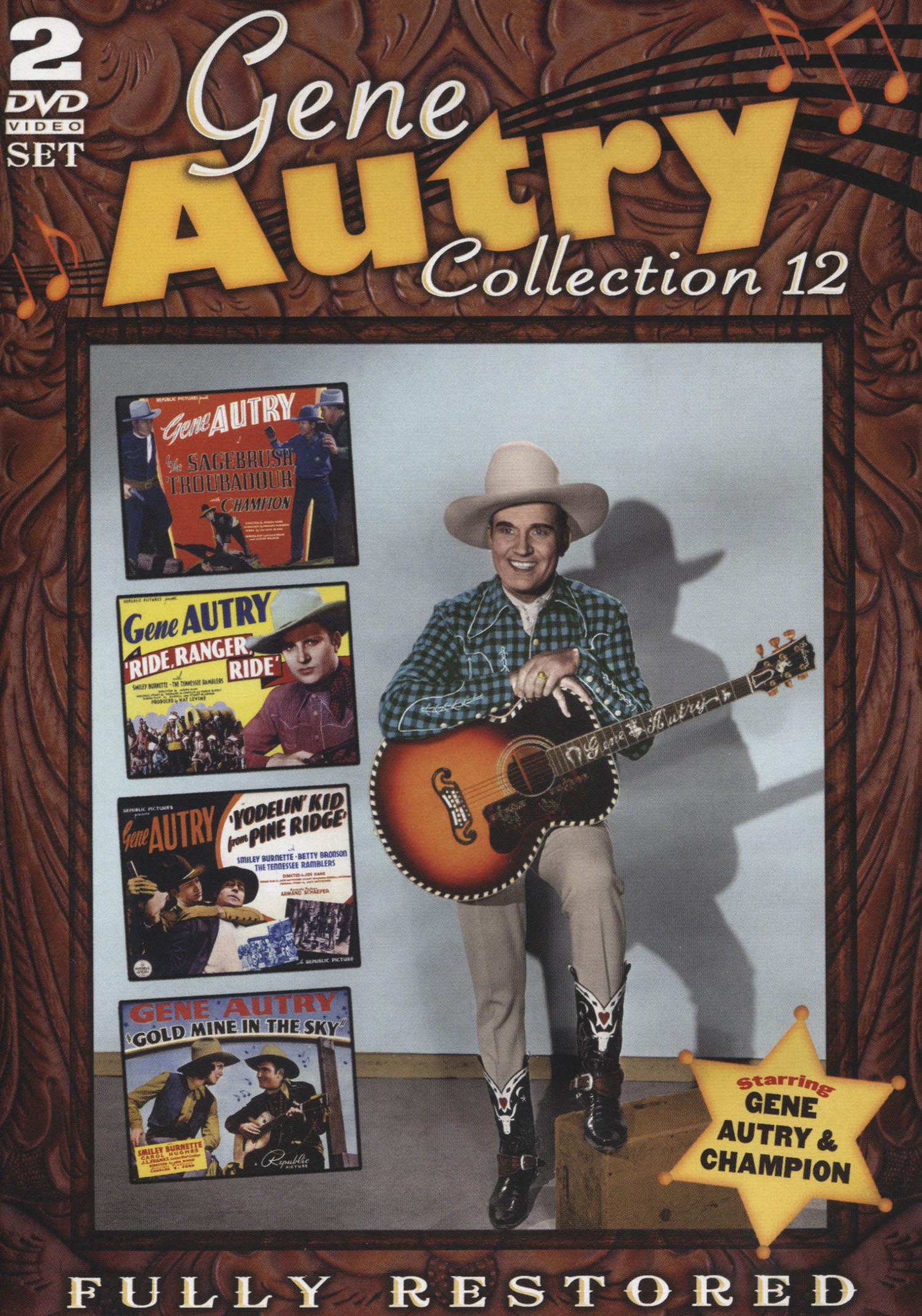 Gene Autry: Collection 12 [2 Discs] (dvd) 29276199