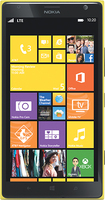 Nokia - Lumia 1520 4G Cell Phone - Yellow (AT&T)