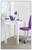 Altra Furniture - Parsons Computer Desk - White