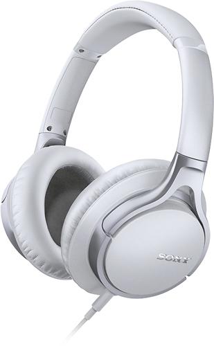 Sony - Over-the-Ear Headphones - White
