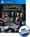 Injustice: Gods Among Us - PRE-OWNED - PlayStation 4