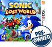 Sonic: Lost World - PRE-OWNED - Nintendo 3DS