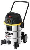 Stanley - Industrial Series 10-Gal. Wet/Dry Vacuum - Silver/Black