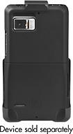 Platinum Series - Holster Case for Motorola DROID Bionic Mobile Phones - Black