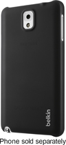 Belkin - Shield Sheer Case for Samsung Galaxy Note 3 Cell Phones - Black
