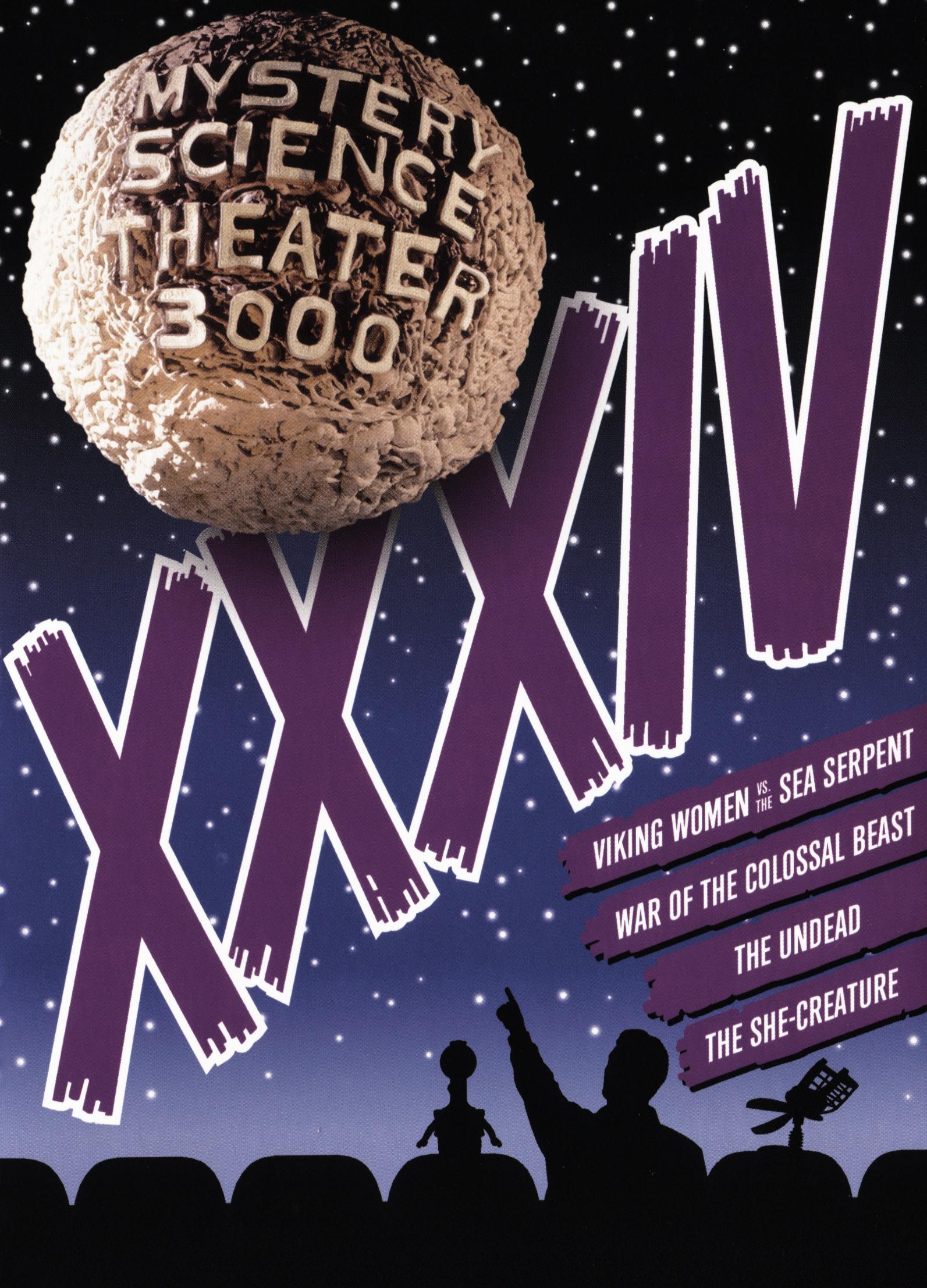 Mystery Science Theater 3000: Xxxiv [4 Discs] (dvd) 29546203