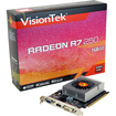 Visiontek - Radeon R7 250 Graphic Card - 1030 MHz Core - 1 GB GDDR5 SDRAM - PCI Express 3.0 x16