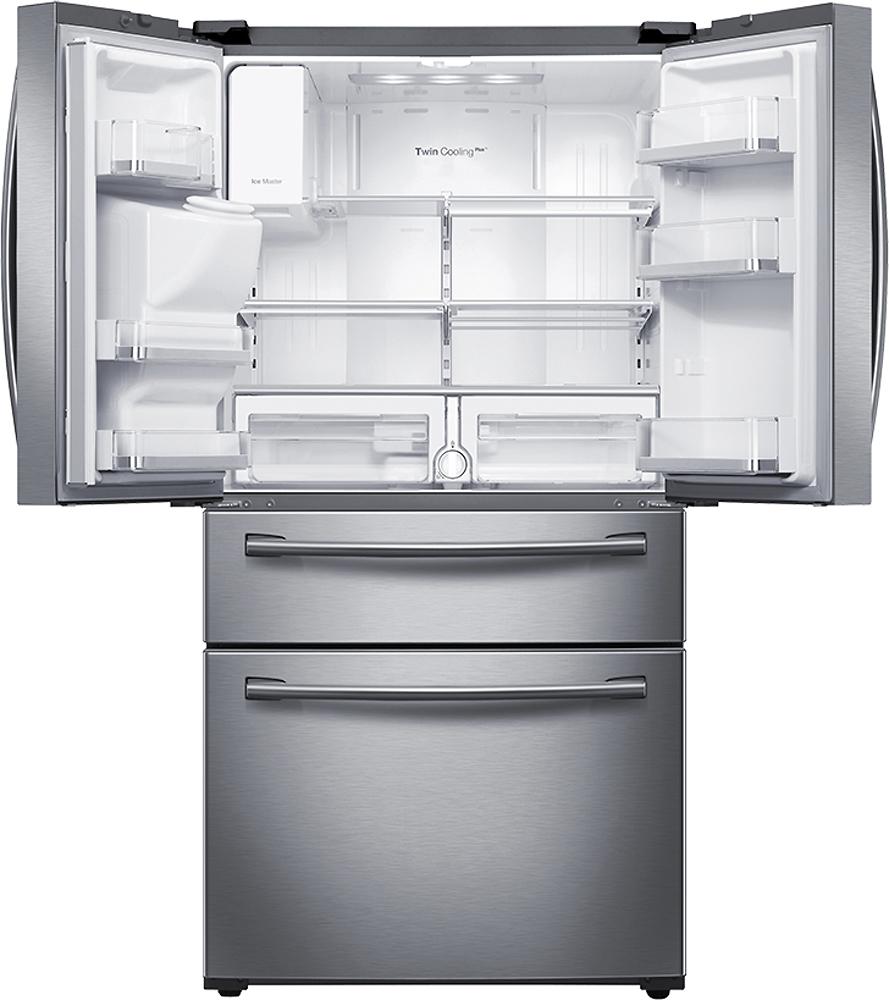 Samsung - 28.2 Cu. Ft. 4-Door French Door Refrigerator with Thru-the ...