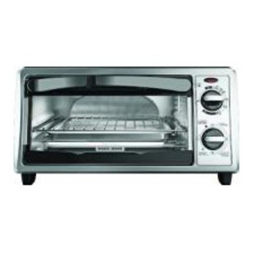 Black & Decker - Toaster Oven - Stainless Steel TO1332SBD