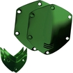V-moda - Crossfade Over-ear Headphone Metal Shield Kit - Hawk Green 2960805