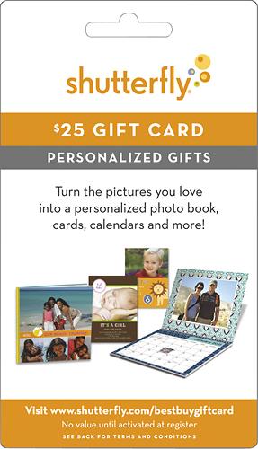 Shutterfly - $25 Gift Card - Multi