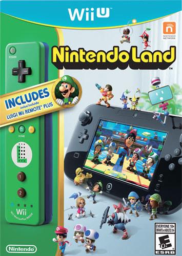 Nintendo - Nintendo Land with Luigi Wii Remote Plus