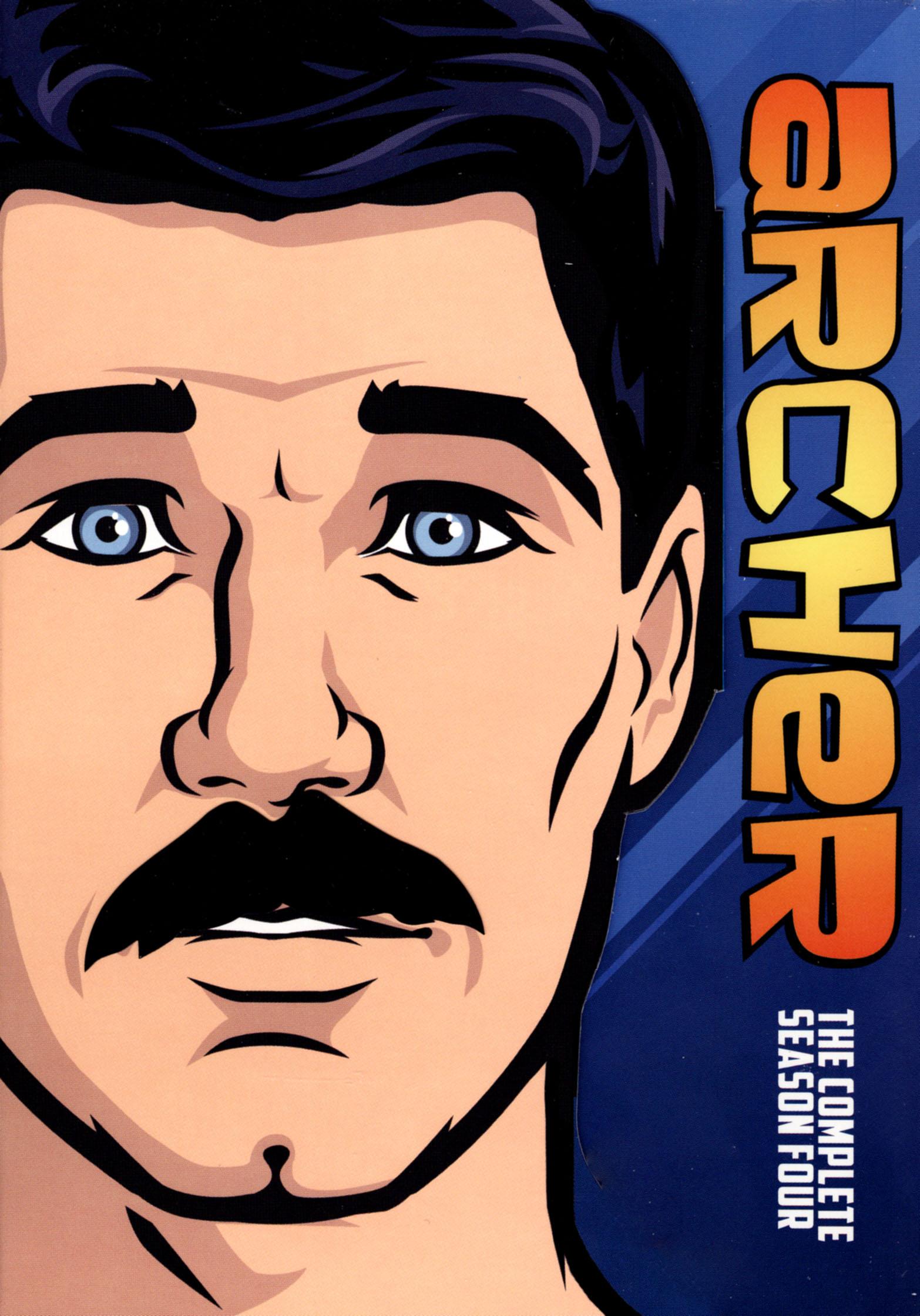 Archer: The Complete Fourth Season [2 Discs] (dvd) 2963116