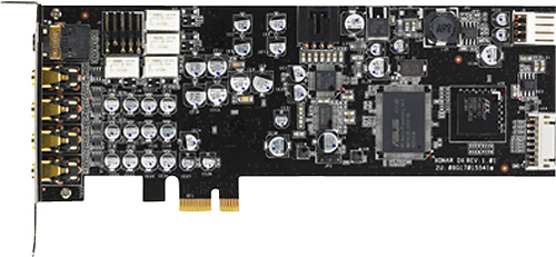 Asus - Xonar DX PCI Express Sound Card - Black