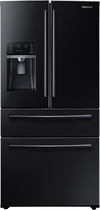 Samsung - 28.2 Cu. Ft. 4-Door French Door Refrigerator with Thru-the-Door Ice and Water - Black