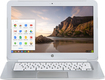 "HP - 14"" Chromebook - Intel Celeron - 2GB Memory - 16GB Solid State Drive - Snow White"