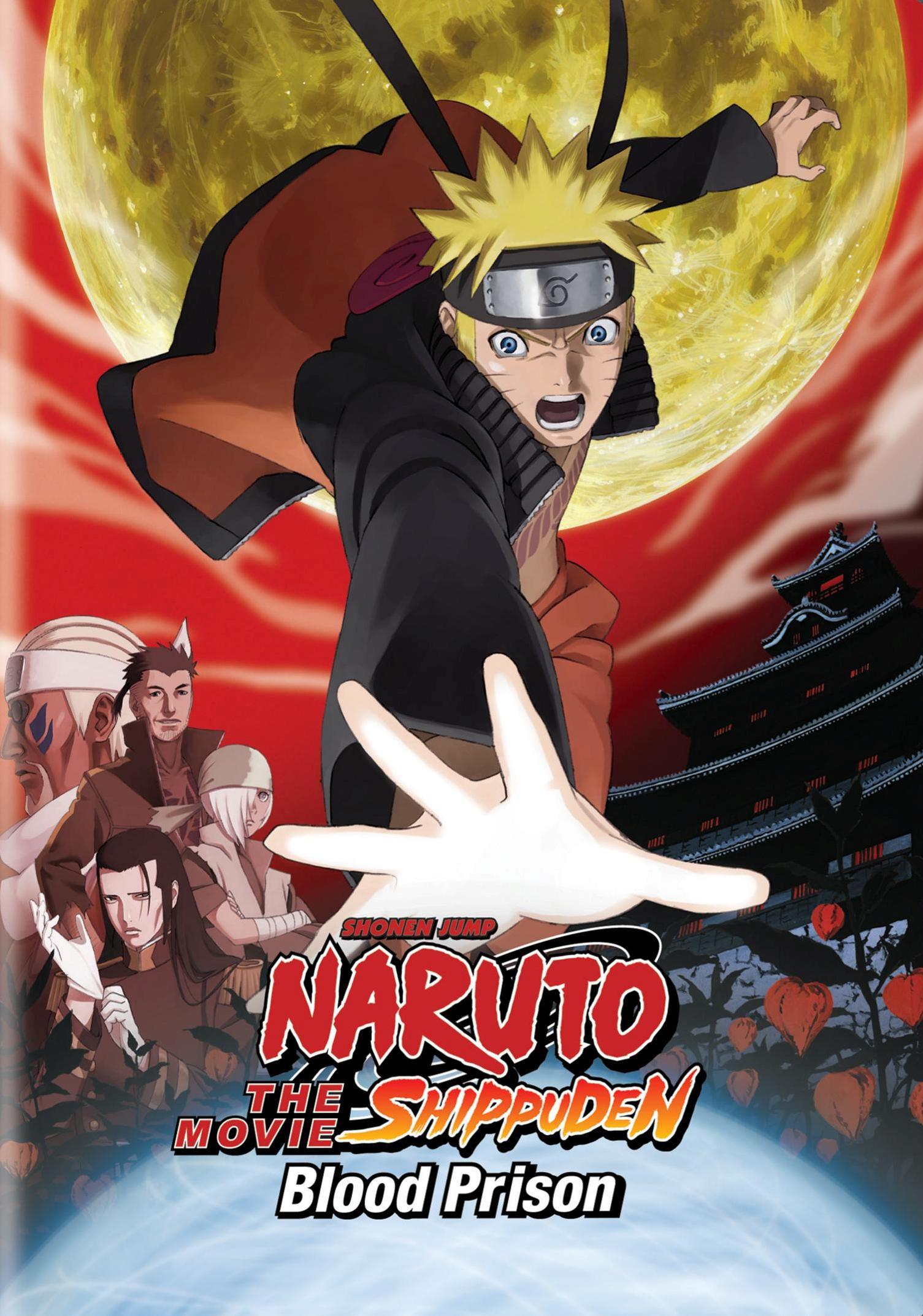 Naruto: Shippuden - The Movie: Blood Prison (dvd) 2979005