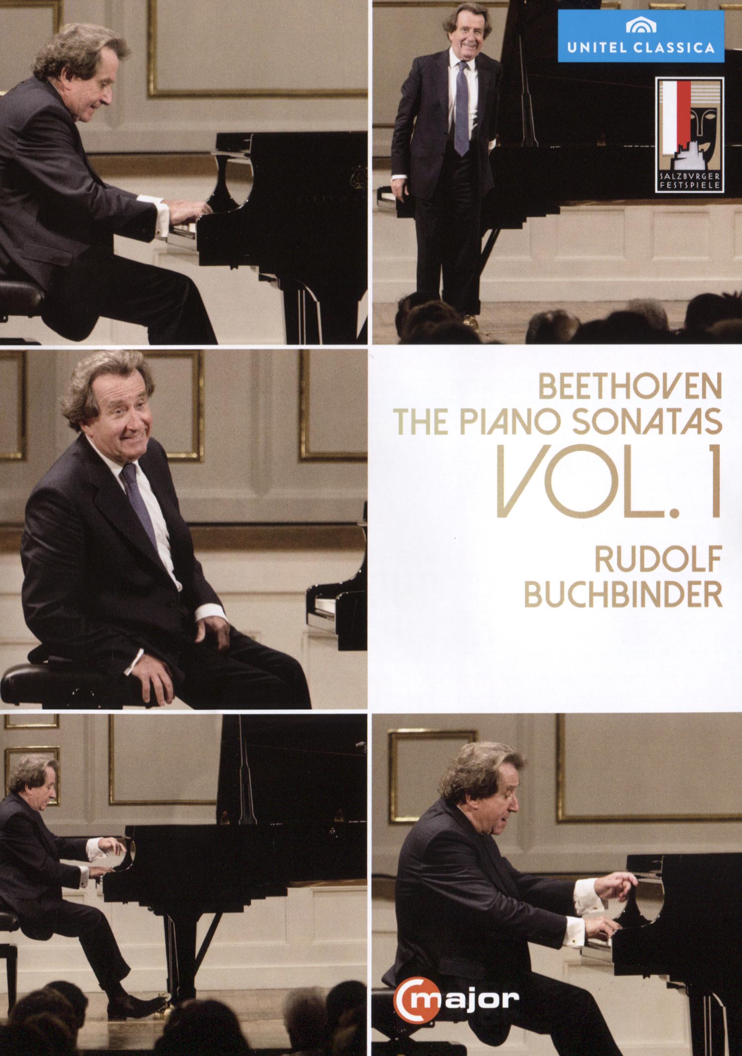 Rudolf Buchbinder: Beethoven - The Piano Sonatas Vol. 1 [2 Discs] (dvd) 29837566